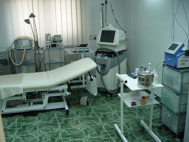 Sala pentru tratamente Dermatologice